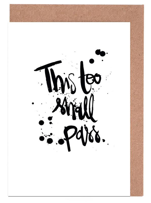 This Too Shall Pass Greeting Card Set