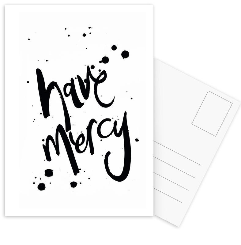 Mercy -Postkartenset