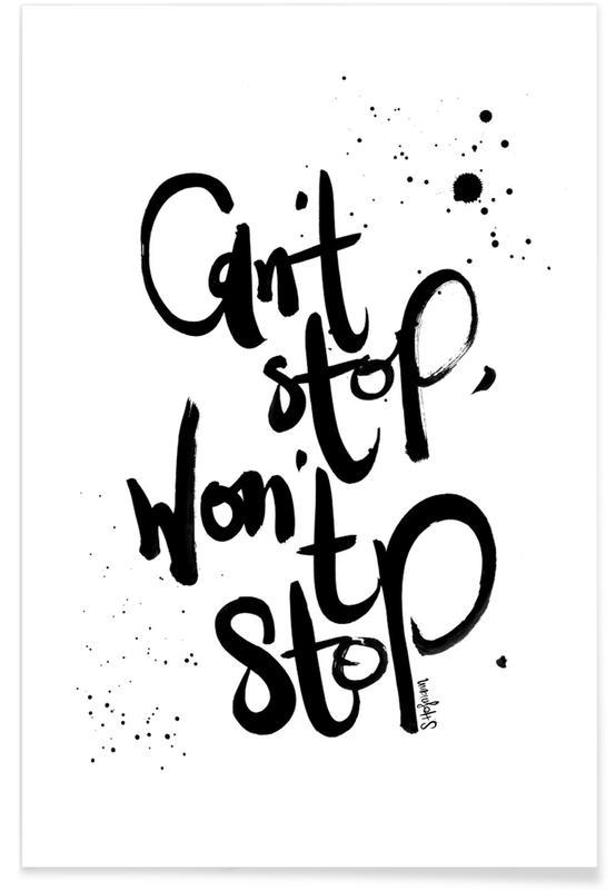 Won't Stop -Poster