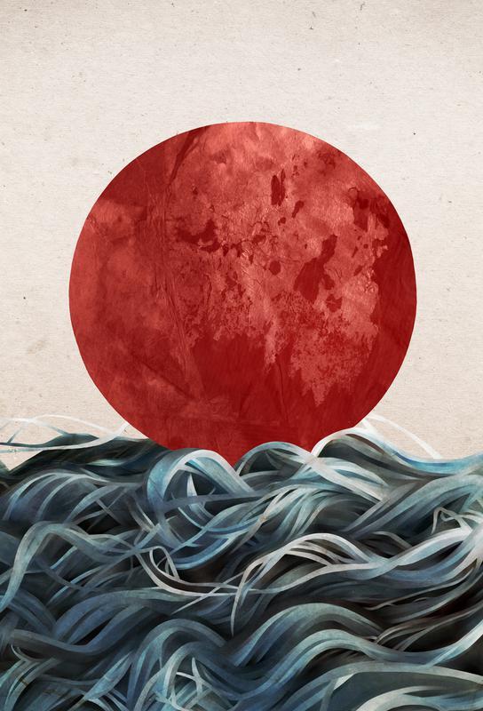 Sunrise in Japan Acrylic Print