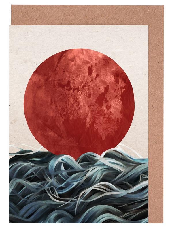 Sunrise in Japan -Grußkarten-Set