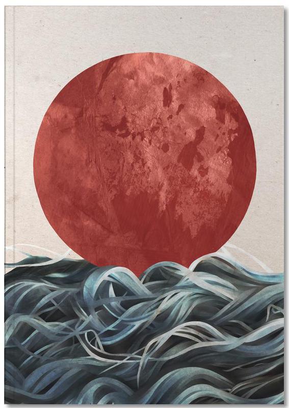 Abstracte landschappen, Sunrise in Japan Notebook