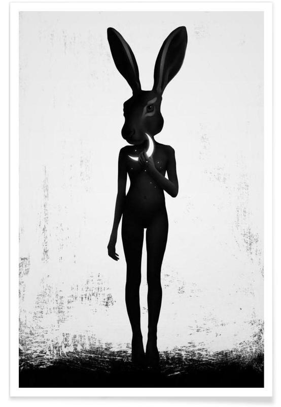 Noir & blanc, Créatures et hybrides, Lepus affiche