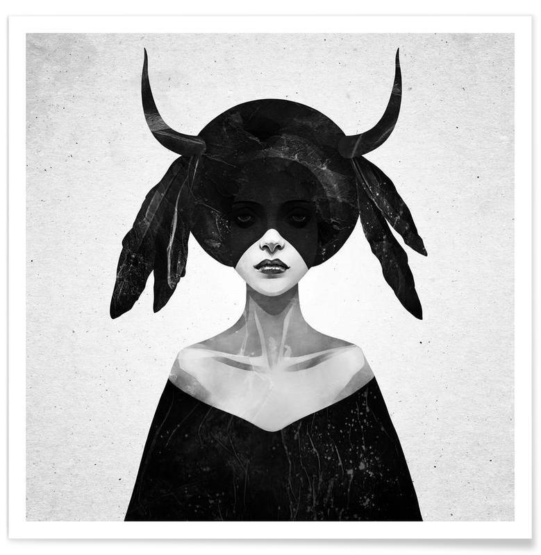 Noir & blanc, The Mound II affiche