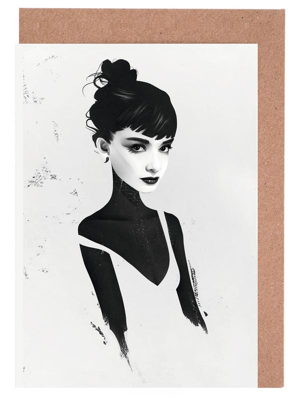 Oh, Audrey Greeting Card Set