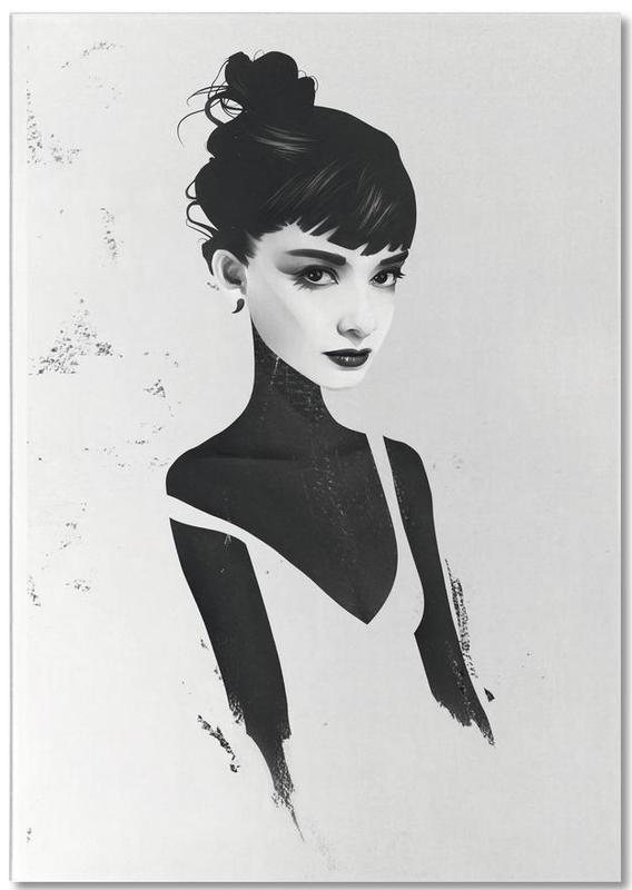 Oh, Audrey -Notizblock