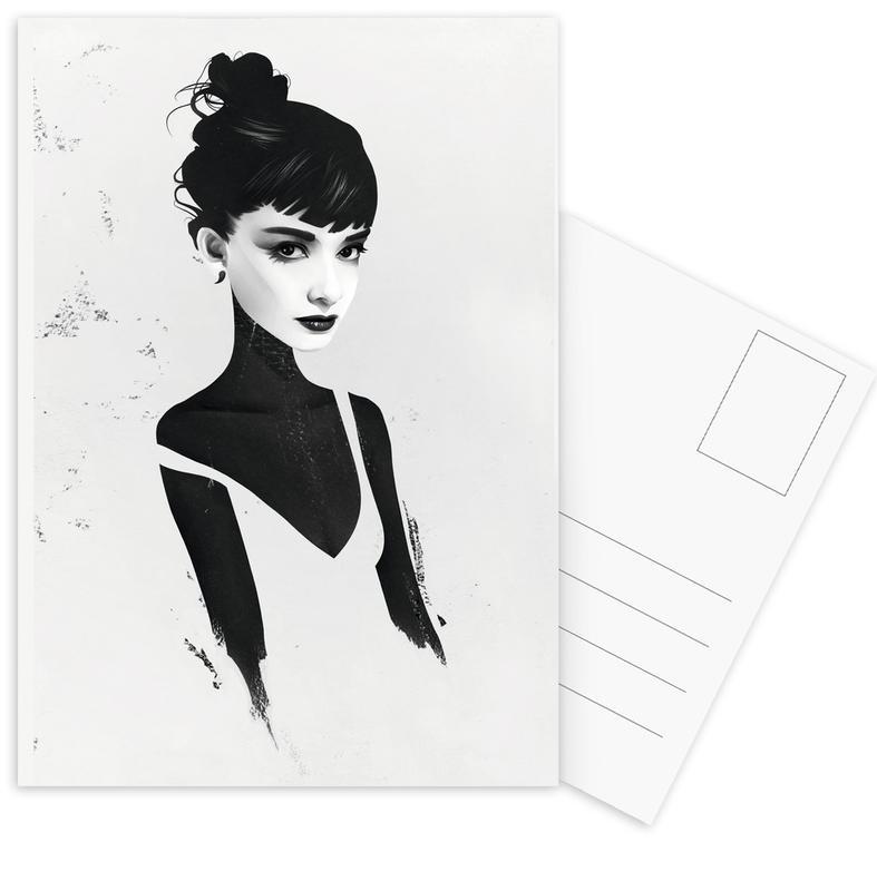 Oh, Audrey -Postkartenset