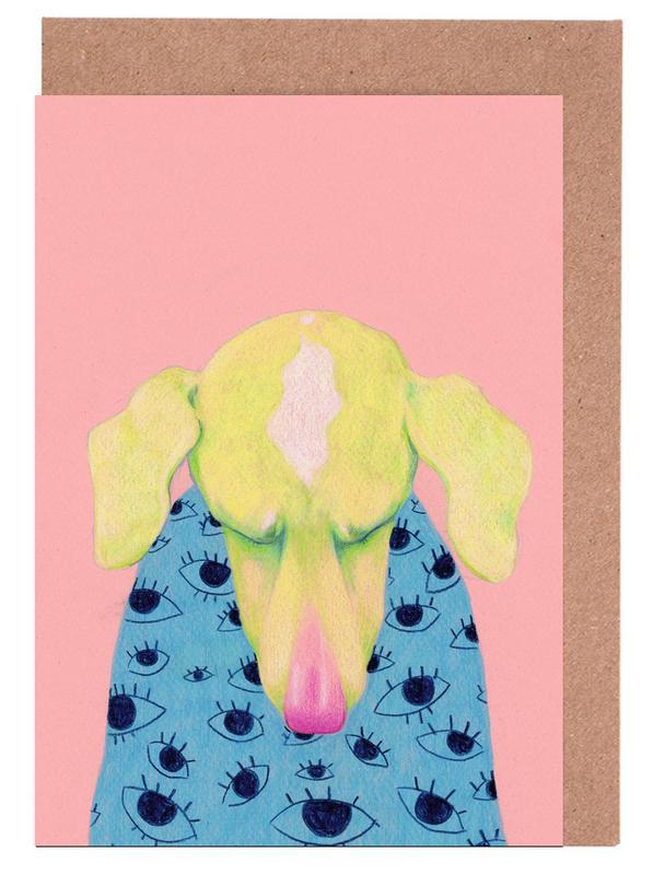 Hunde, Sad Dog -Grußkarten-Set