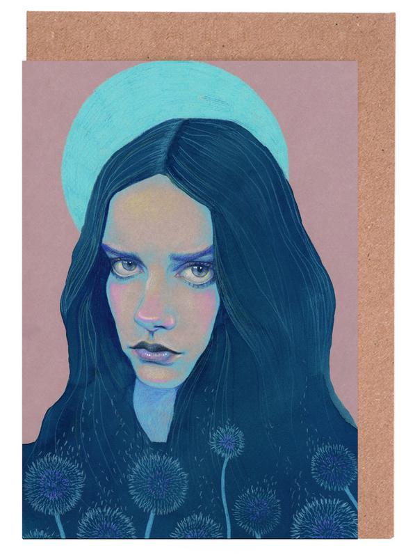 Porträts, Dandelion -Grußkarten-Set