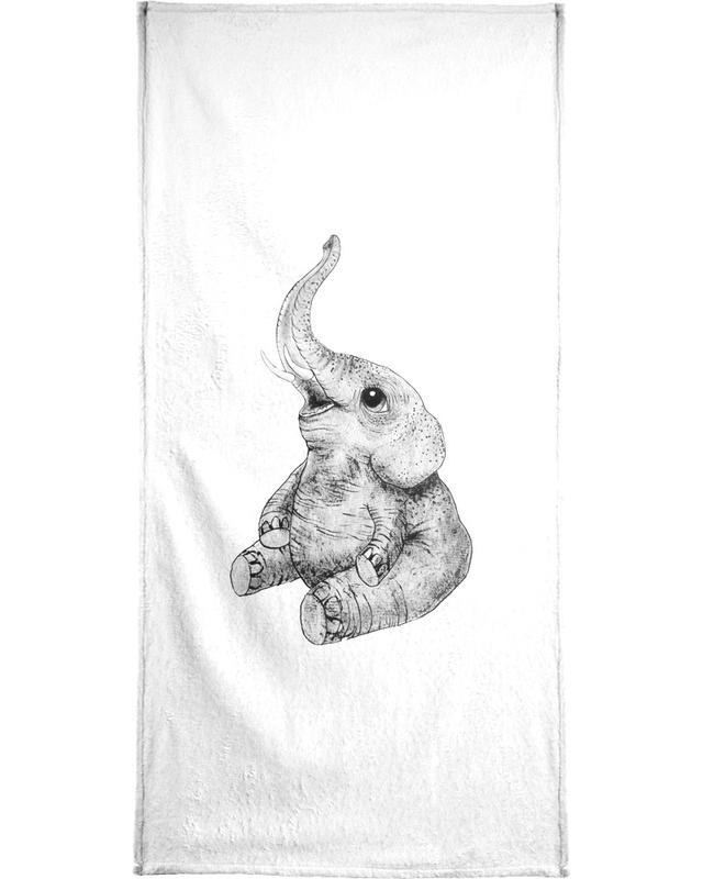 Elephant serviette de bain