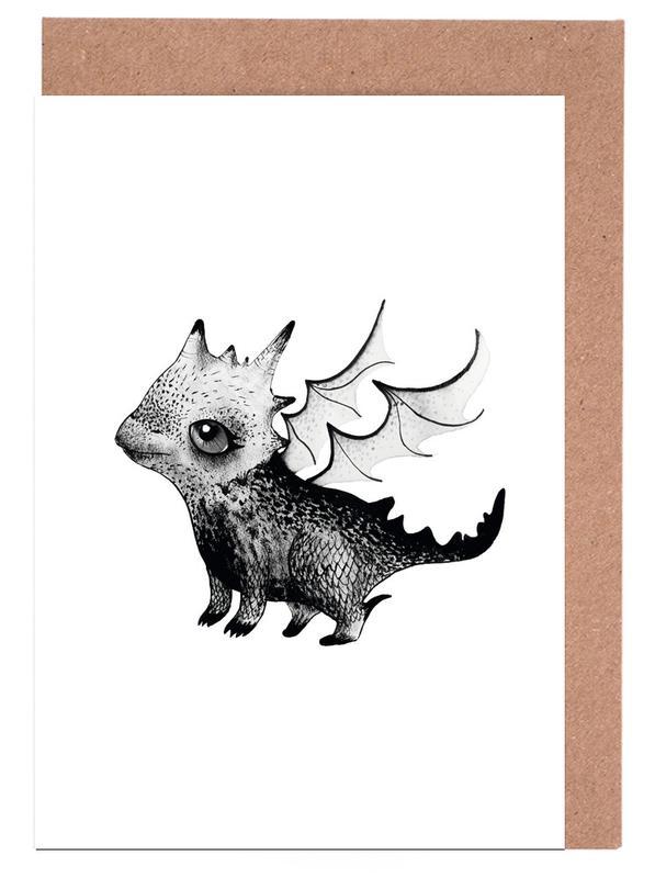 , Dragon -Grußkarten-Set