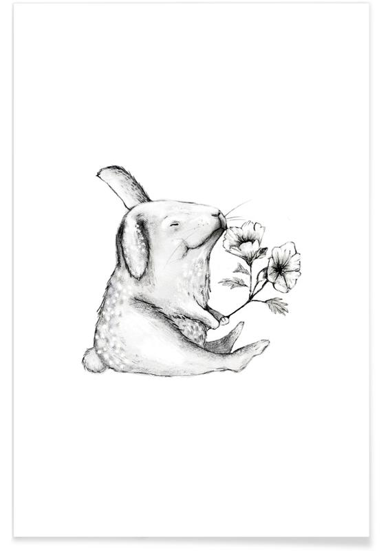 Lapins, Anniversaires, Saint-Valentin, Rabbit affiche