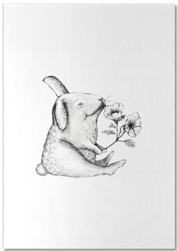Saint-Valentin, Lapins, Anniversaires, Rabbit bloc-notes