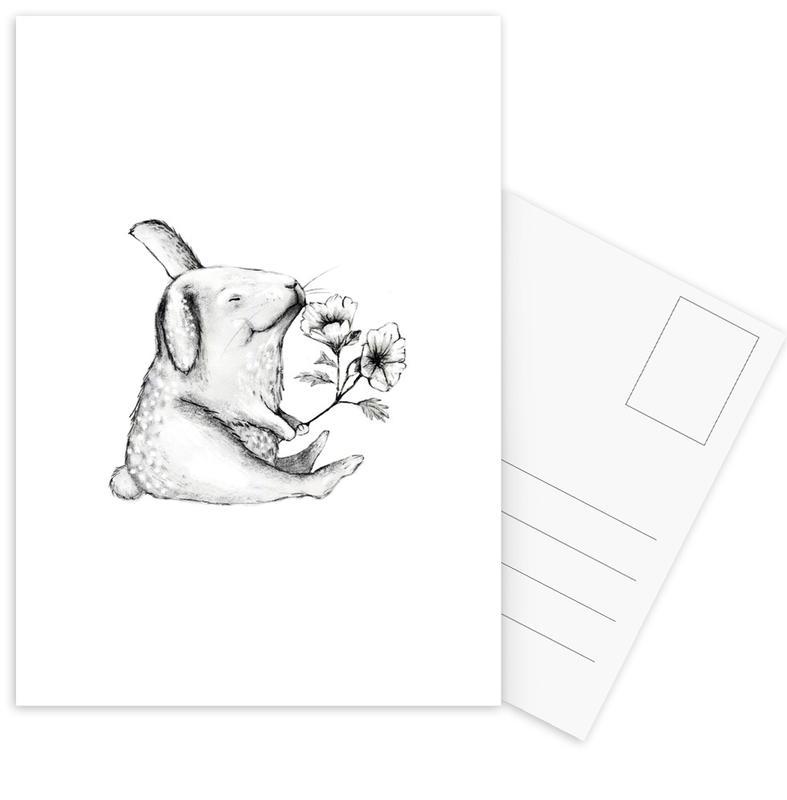 Lapins, Anniversaires, Saint-Valentin, Rabbit cartes postales