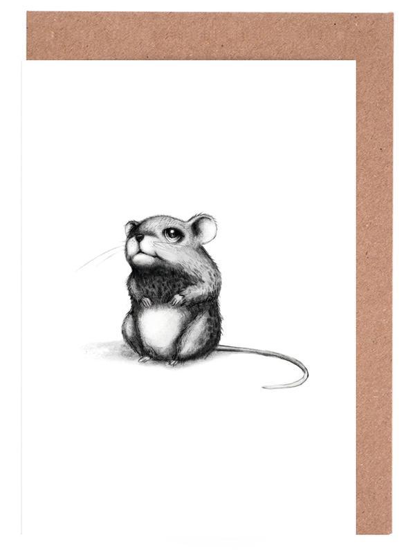 , Mouse cartes de vœux