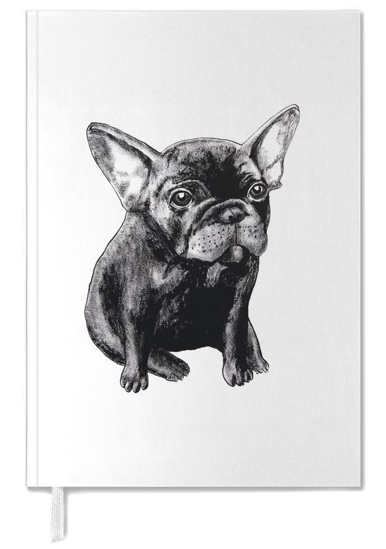 Chiens, Noir & blanc, French Bulldog agenda