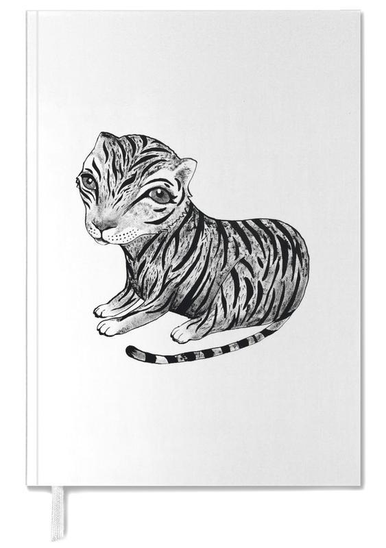 Kunst voor kinderen, Zwart en wit, Tijgers, Tiger agenda