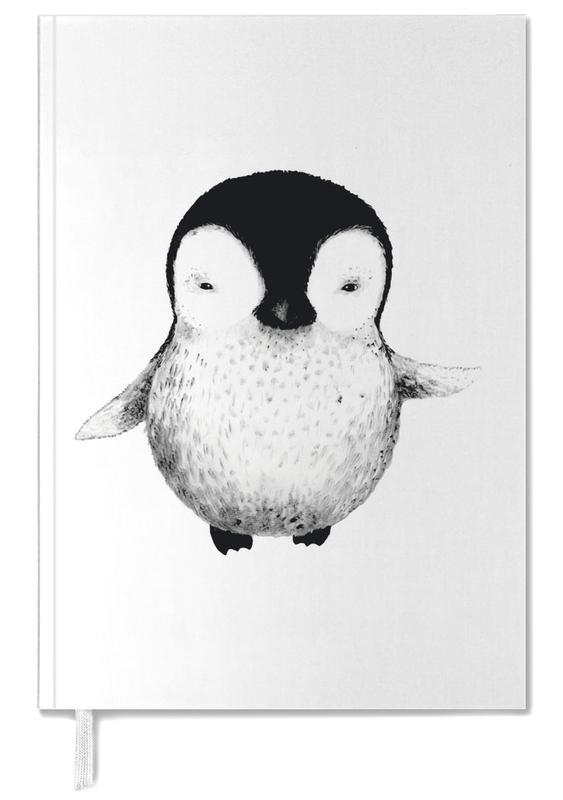 Noir & blanc, Pingouins, Art pour enfants, Penguin agenda
