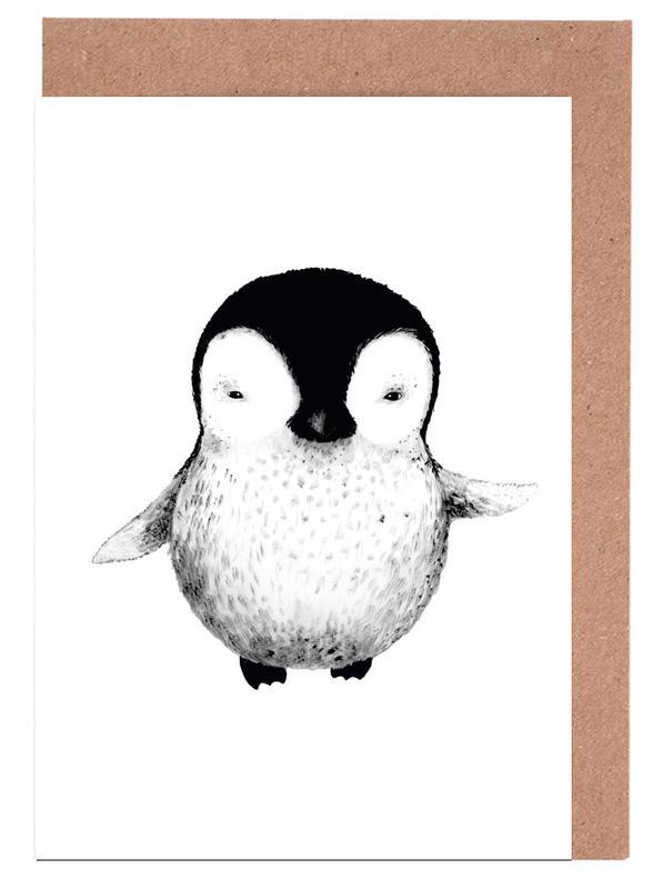 Penguin Greeting Card Set