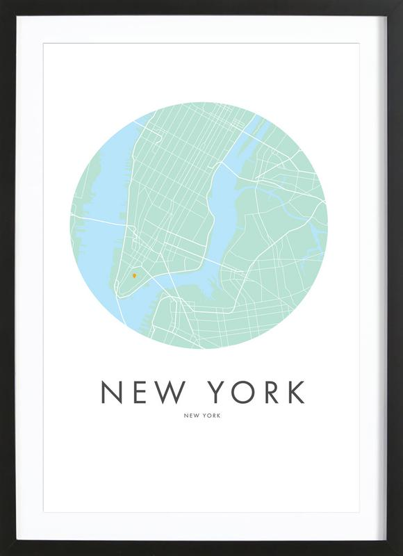 Metropolitan - New York Framed Print