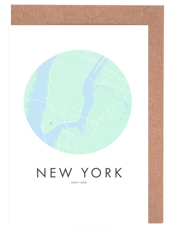 Metropolitan - New York Greeting Card Set