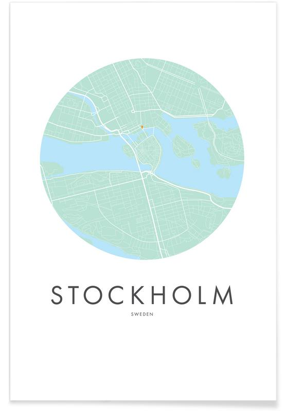 Metropolitan - Stockholm affiche