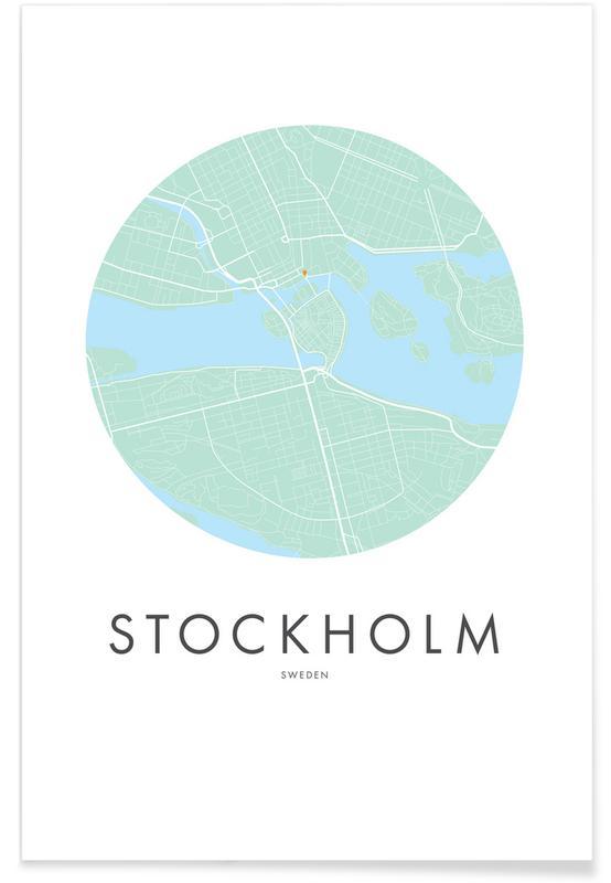 Metropolitan - Stockholm Poster