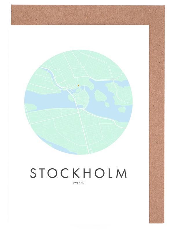 Metropolitan - Stockholm -Grußkarten-Set
