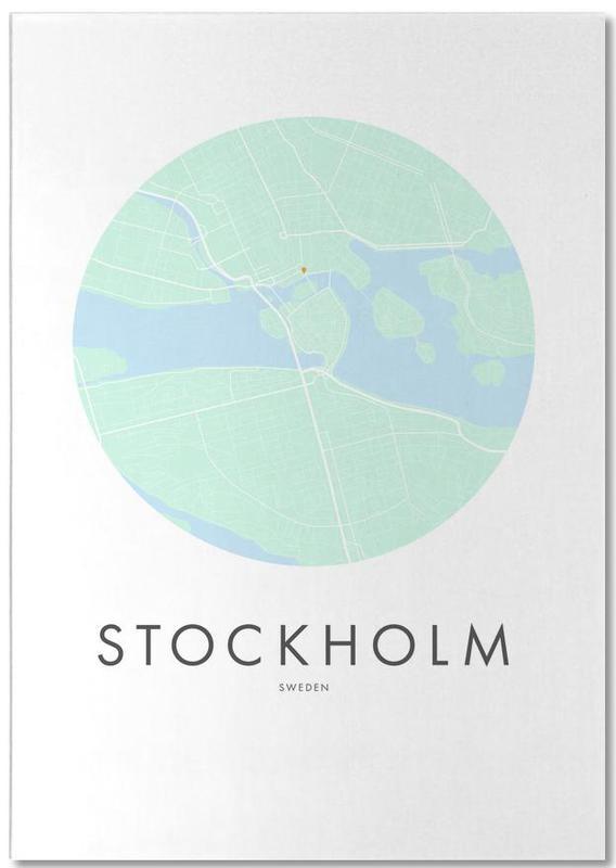 Metropolitan - Stockholm -Notizblock