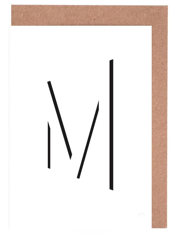 Alpha - M Greeting Card Set