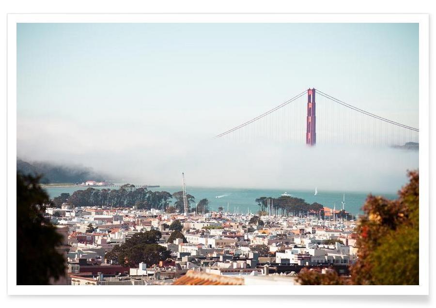 San Francisco, Golden Gate Bridge Poster