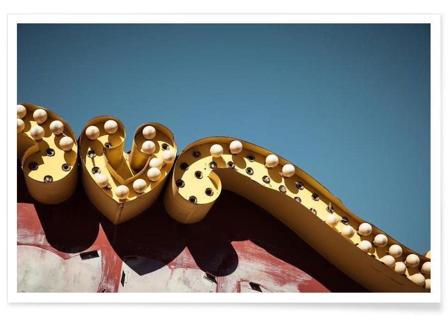 Architectonische details, Las Vegas, Vegas poster