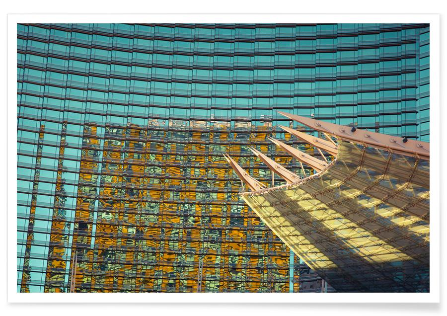 Architectural Details, Las Vegas, Vegas Poster