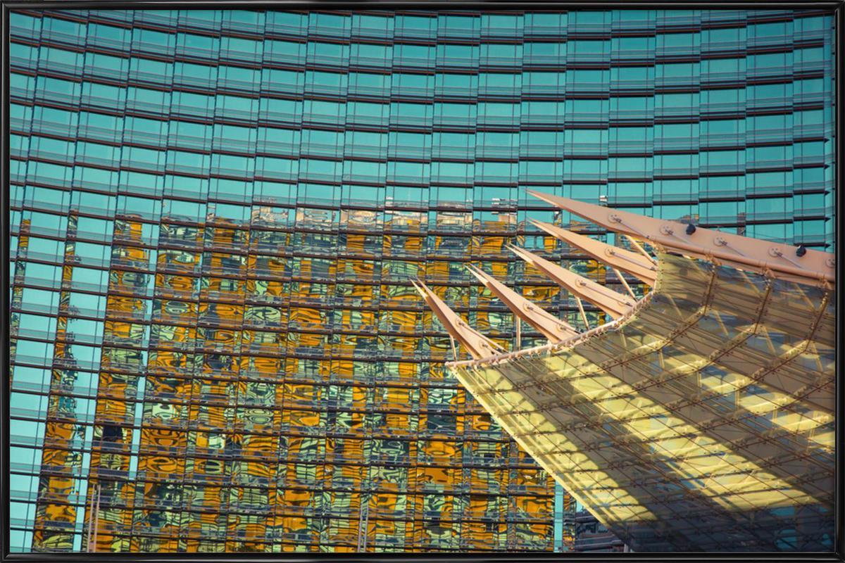 Vegas -Bild mit Kunststoffrahmen