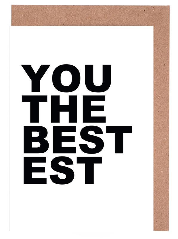You Are the Bestest cartes de vœux