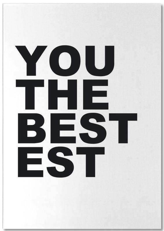 You Are the Bestest bloc-notes