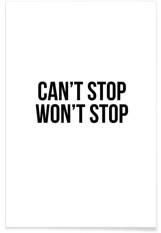 Can't Stop Won't Stop -Poster
