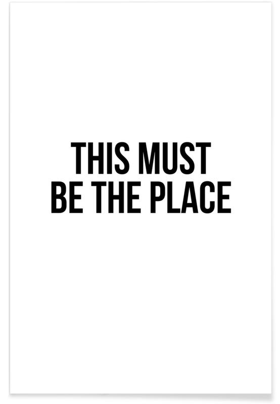 This Must Be The Place -Poster