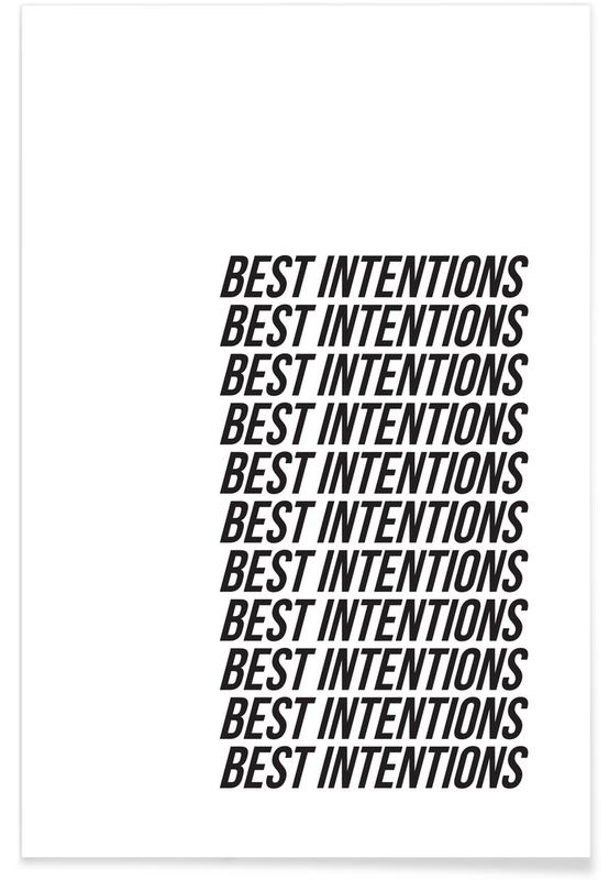 best intentions Poster