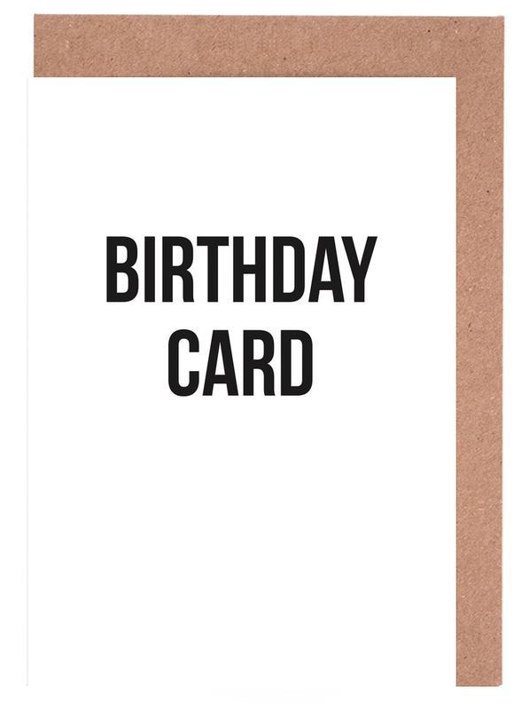 birthday card -Grußkarten-Set