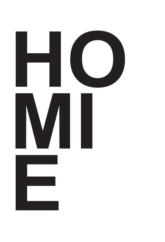 homie -Acrylglasbild