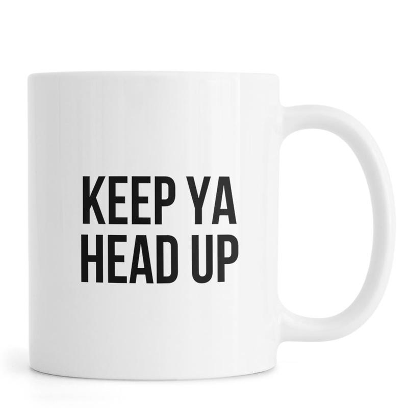Keep Ya Head Up Mug