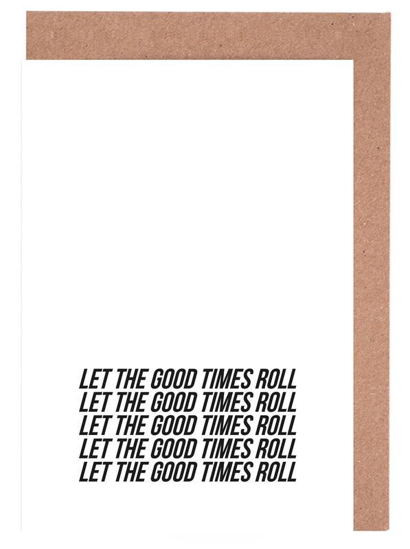 let the good times roll cartes de vœux