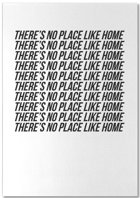 theres no place like home bloc-notes
