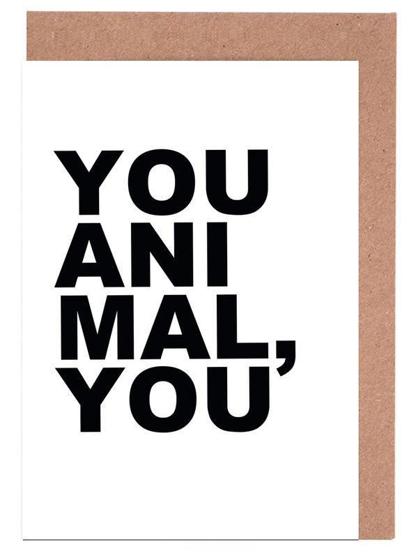 You Animal You cartes de vœux