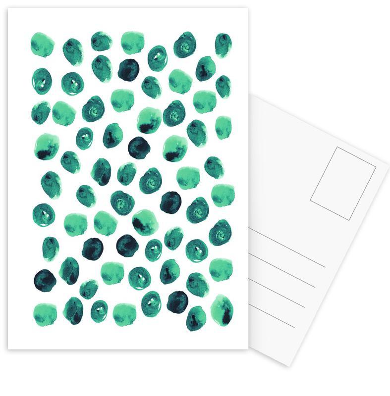Patterns, Emse Postcard Set