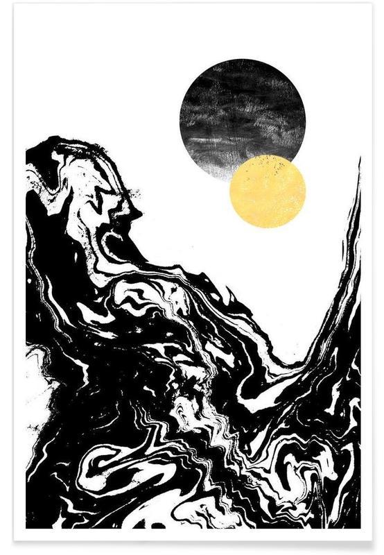 Black & White, Eugenia Poster