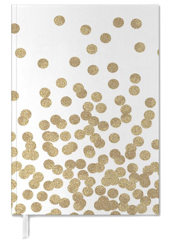 Gold Glitter Personal Planner