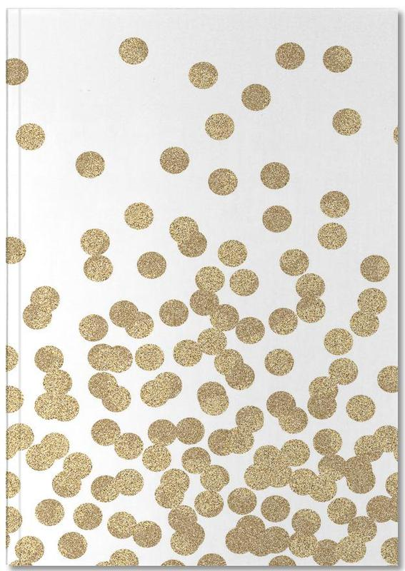 Gold Glitter Notebook