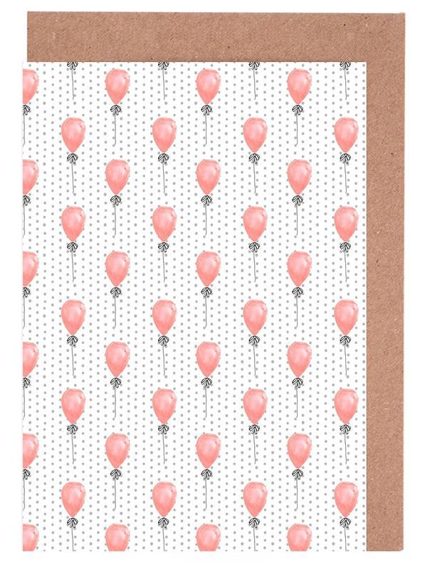 Balloons -Grußkarten-Set